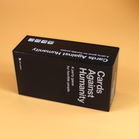 Wholesale Newest cards against of humanity UK US AU CA basic version cards game for party gifts with high quality and fast shipping55