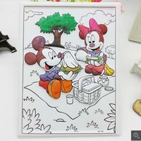 Wholesale Factory direct D three dimensional watercolor painting DIY relief painting baby painted with watercolor pen children s educational toys