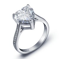 Wholesale Hot Sale Luxury Wedding Rings For Women With S925 sterling Silver Ring Top AAA CZ Diamond