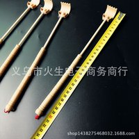bamboo scratcher - Bamboo Telescopic Back Scratcher Extendable Wooden Back Itching Self Massager