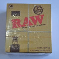 Wholesale NEW Raw Natural Unrefined booklets mm King Size Fine Quality Paper price box