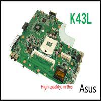 Wholesale laptop motherboard for ASUS K43L REV Mainboard N7SMB1400 K43L REV HM65 GMA HD3000 DDR3