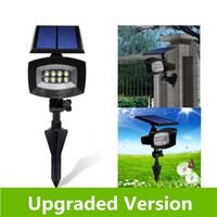 ac installations - Super Bright LED Solar Wall lamp solar Panel Spotlight in Installation Long Working Battery Adjustable Light Waterproof Lawn Land soot