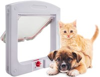 Wholesale OxGord Dog Cat Flap Doors with Way Lock for Pets Entry Exit New Design
