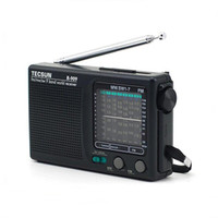 aa power supply - Classic Tecsun R Mini Portable SW MW FM Radio Receiver Radiogram Band without Screen AA Battery External Power Supply