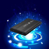 Precio de Una caja portadiscos disco-Alta calidad a estrenar HDD externo SSD 2.5inch USB 3.0 unidad de disco duro caja del gabinete SATA