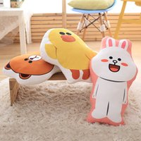 bear memories - 55CM quot Cute Cartoon Plush Pillow Brown Bear Honey Rabbit Figure Decoration Pillow Gifts for Girls Children For Christmas or Birthday