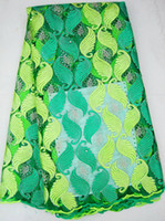 Wholesale sell big discount lace african french tulle fabric J574