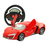 battery fighter charger - Four way door gravity induction steering wheel remote control racing car charging remote control vehicle model electric toy