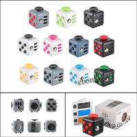 Wholesale Fast Shipping color New Fidget Cube the world s first American decompression anxiety Toys