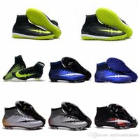 Wholesale New Mercurial CR7 Superfly FG IC TF Turf Superflys Football Boots Soccer Boots Mens Soccer Cleats Cristiano Ronaldo Indoor Soccer Shoes