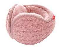 Wholesale Knitted jacquard warm winter earmuffs men and women models Ear protection cold ear warm ears