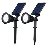 Wholesale Wireless Led Solar Power Lamp Super Bright Antomatic Spotlight Outdoor Landscape Lighting Waterproof WallSecurity Night Lights