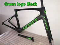 Wholesale Carbon road bike frame of Foil Made in China Green logo carbon frames with PF30 T1100 K road bike carbon frames
