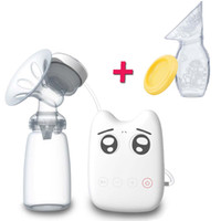 automatic breast pumps - Portable Automatic Electric USB Single Comfort Breast Pump ML BPA free material milk pump FDA PP material Easy to assemble