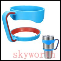 Wholesale New design Colorful Handle for oz YETI Rambler Tumbler Yeti Cup Cups handle Accessories Gift