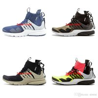 athletic high heels - High Quality Air Presto MID ACRONYM Men Running Shoes Fashion Sneaker Athletic Shoes Size