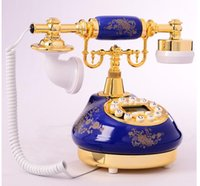 antique caller id phone - ZHIZHEN Fashion phone ceramic vintage antique caller id telephone