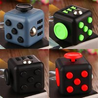 Wholesale in stock Fidget Cube Toys for Girl Boys Christmas Gift The First Batch of The Sale Best Christmas Gift Pressure relieve Migic Cube