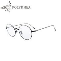 Wholesale High Quality Grade Eyewear Frames Vintage Round Glasses Female Brand Designer Spectacle Plain Glasses Eye Glasses Frames For Women