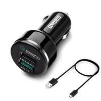 auto technology - Quick Charge Technology Car Charger Port USB Smart Fast Charging with Auto Detect Technology for Smart Phones