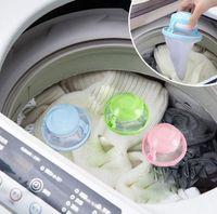 ball hair removal - Mesh Filter Bag Home Washing Machine Laundry Supplies Floating Lint Mesh Pouch Filter Bag Filtration Hair Removal Laundry Ball KKA1562