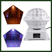 Wholesale Disco DJ Stage Studio Special Effects Lighting RGB Color Changing Rotating LED Magic Light Ball