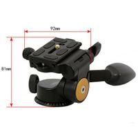 Wholesale Q08 Aluminum DSLR Camera Handle Tripod Ball Head Rocker Arm Q Way D Damping Monopod Tripod Quick Release Plate PTZ