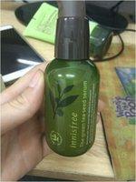 Wholesale INNISFREE Korea brand Green bottle CREAM THE Green tea seed serum moisturizing face care Lotion ML NEW STYLE