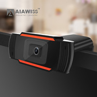 Wholesale AIAWISS USB PC Camera Video Record HD Webcam Web Camera with MIC for Computer PC Laptop Skype MSN