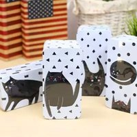 Metal american girl store - Lovely dot animal cartoon cat kumamoto double household receive a case Boys and girls store content box Tin box supplies