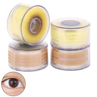adhesive mesh tape - Pairs Double Eyelid Sticker Tape Skin Mesh Stealth Tape Eye Paste Slim Adhesive Invisibility Makeup Beauty