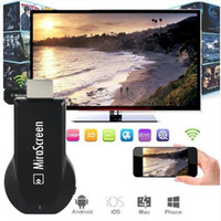 Wholesale MiraScreen OTA TV Stick Dongle Better Than EZCAST DLNA Airplay WiFi Display Miracast TV Dongle HDMI Full HD P Receiver