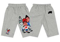 Wholesale D6520141 NEW Style pants trukfit Pyrex fashion mens cotton Shorts Elastic Waist Casual Knee Length