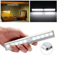 animal motion detector - 2016 New TDL LED IR Infrared Motion Detector Wireless Sensor Lighting Closet Night Battery Lamp Cabinet Wardrobe Light
