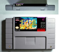 Wholesale SNES Game card RPG Game Battery Save E V O The Search for Eden EVO