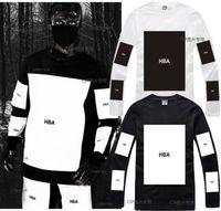 big block hood - Factory price long sleeve t shirt big block design tee shirt hip hop t shirt street fashion special tshirt Hood By Air HBA pyrex