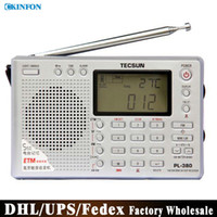 Wholesale PL DSP Radio FM MW SW LW Receiver Clock Alarm Black Outdoor Antenna