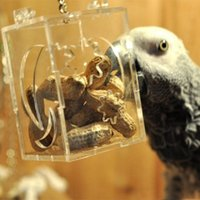 Wholesale New Arrival Parrot Bird Toy Birds Foraging Toys Parrot Cage Hanging Food Feeder Pet Bird Toy Accessories