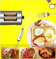 Wholesale 220v household cook bread slot bread toaster breakfast make bread and toast baking machine for kitchen