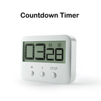 alarm products - Countdown Digital Timer Digital Kitchen Timer With Clock And Loud Alarm Digital LCD Timer Product Code