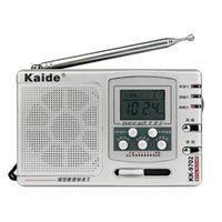 Wholesale Kaide Digital Band Radio FM MW SW1 Outdoor Morning Practice Pocket Receiver Plus Time Setting Y4317D Alishow