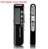 Wholesale 8GB Digital Voice Recorder Voice Activated USB Pen Digital Audio Voice Recorder Mp3 player Dictaphone Black gravador de voz