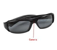 HD 1080P Lunettes cachées Video Recorder Spy Lunettes de soleil Camera Recording DVR Glasses Caméscope portable avec boîte de vente au détail