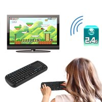 Wholesale 810 Mini G Wireless Keyboard Air Mouse Touchpad LED Russian Version For PC TV