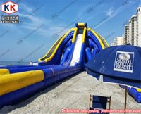 amusement water park - outdoor amusement park inflatable water slide The largest hippo inflatable beach water slide