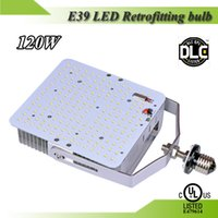 Wholesale 4pcs years warranty UL DLC listed W LED Parking retrofitting bulb for W MH shoebox fixture replacement
