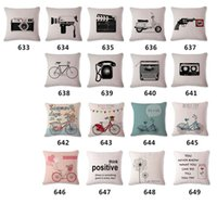 Wholesale Wild Animal Cushion Cover Chinese Style Cotton Throw Pillow Case Spring Color Pillowcase Flag Cushion cover