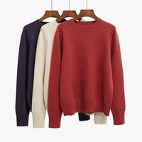 Wholesale New autumn and winter knitting head sweater conventional Korean girls