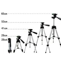 Wholesale ortable Professional Aluminum Telescopic Camera Tripod Stand Holder For Smart Phone For iPhone For Samsung